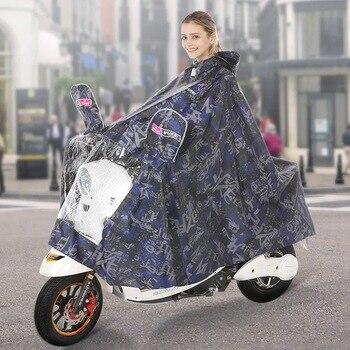 Plastic Waterproof Raincoat Women Motorcycle Outdoors Poncho Raincoat Hiking Survival Portable Impermeable Raincoats OO50YY