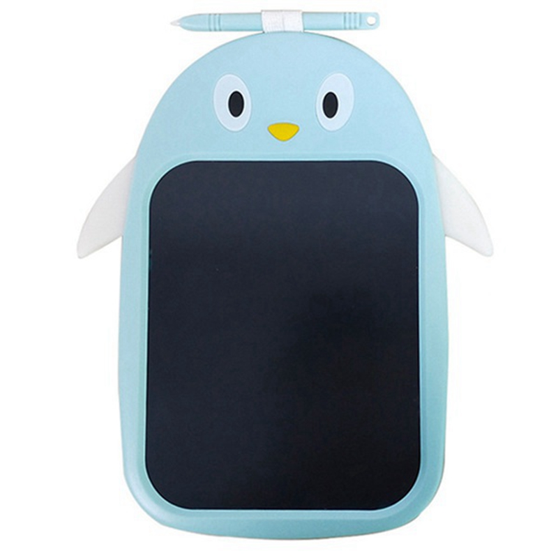 Mini LCD Writing Color Board Children's Penguin Color LCD Digital Drawing Writing Tablet One-Button Lock Screen