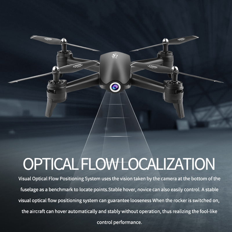 Profession Wifi RC Drone 4K 1080P 720P HD Dual Camera Optical Flow Aerial Quadcopter FPV Drone Long Battery Life Toys For Kids