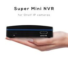 Мини-видеорегистратор XMEYE, 4 канала, 8 каналов, 16 каналов, NVR для ip-камер Onvif с разрешением 4 МП, 5 МП, сжатие H.264 и H.265, USB HDD и TF-карта для записи