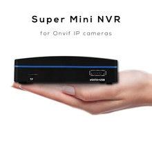 Xmeye 4ch/8ch/16ch mini nvr, para câmeras ip onvif de resolução de 4mp/5mp, h.264 e h.265 compressão, usb hdd & cartão tf gravação
