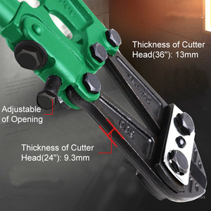 Image 4 - LAOA Bolt Cutter Heavy Duty Rebar Cutter Cr V Steel Thicken Wire Cutting Pliers Cut Lock Chain