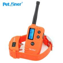 Перезаряжаемый водонепроницаемый дрессировочный ошейник Petrainer 910T для собак с амортизацией и вибрацией для тренировок и охоты