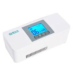 Nowe  wydajne  chłodnicze pudełko chłodnicze z insuliną przenośne pudełko chłodnicze lek mała lodówka A1 upgrade version użytkowanie samochodu w Dozownik mokrych ręczników od AGD na