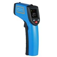 Бесконтактный ручной цифровой термометр лазерный ЖК-дисплей ИК инфракрасный температура поверхности тестер термометр пирометр