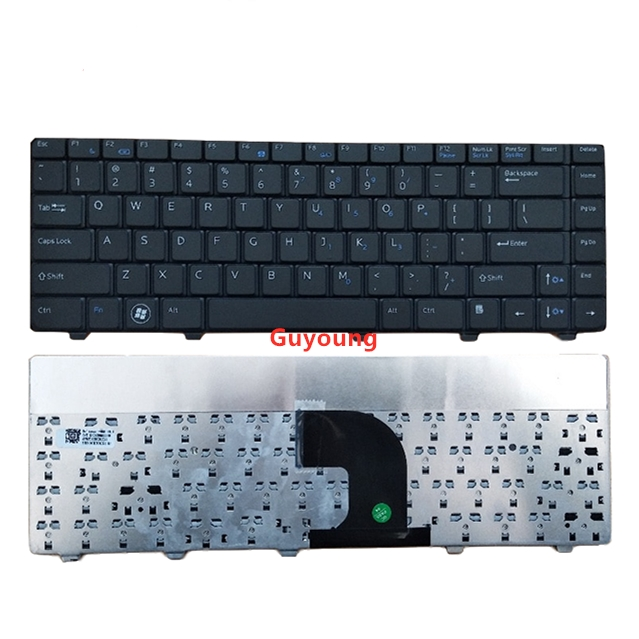 laptop US black Keyboard For <font><b>DELL</b></font> Vostro 3300 3400 <font><b>3500</b></font> V3300 image