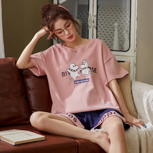 BZEL Pijama Set Women's Sleepwear Tops Shorts PJ Set Summer