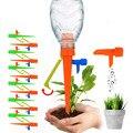 Система капельного орошения сада, автоматическая бутылка с регулируемыми шипами, для комнатных и уличных растений, цветов