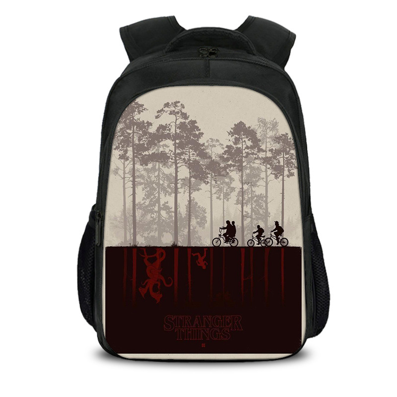 Stranger Things Backpack For Teenage Children School Bags Boy Girls School Backpacks Kids Schoolbag Stranger Things Student Bags