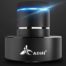 Adin 26W Metal Vibration Speaker Bluetooth Bass Mini Portable Touch Speakers Wireless Resonance Subwoofer Handsfree with Mic