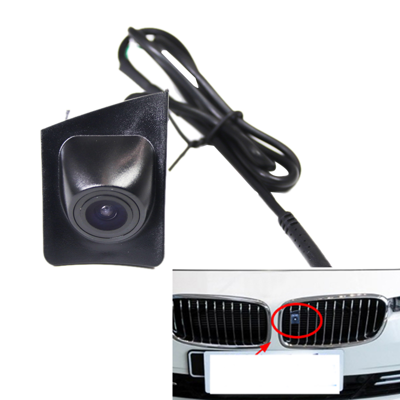 Car Front View Camera Night Viosn Waterproof Camera For BMW 5 Series 7 Series