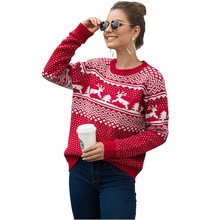 цены sales women christmas tree tops knit sweater women winter clothes long sleeves O neck pullover knit shirt jumper sweter