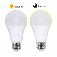Dusk to Dawn E27 B22 Smart Light Sensor LED Bulb 10W/15W AC220V 110V Automatic On/Off Indoor/Outdoor Lighting