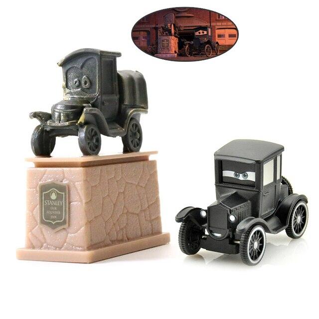 Disney Pixar Cars 3 Saetta McQueen Jackson Tempesta Mater 1:55 Diecast In Metallo In Lega Modello di Auto Giocattolo Auto Regalo Di Natale Per Bambini Ragazzi 2