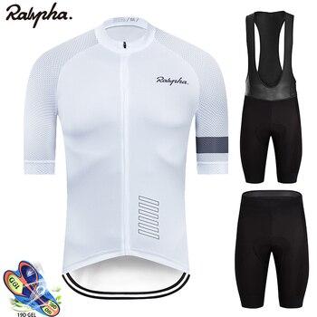 Ralvpha ropa ciclismo camisa de ciclismo roupas bib shorts conjunto almofada gel mountain ciclismo roupas ternos ao ar livre mtb bicicleta wear 2020 1