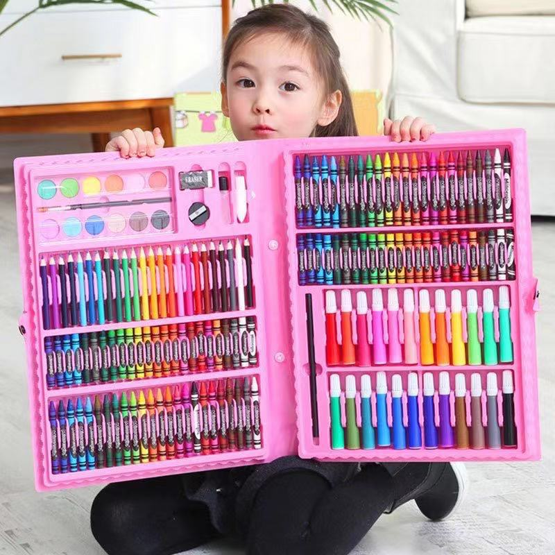 208 Colors / 1PC Cute Color Pen Oil Stick Creative Color Graffiti Pen Child Painting Supplies Student Stationery Package