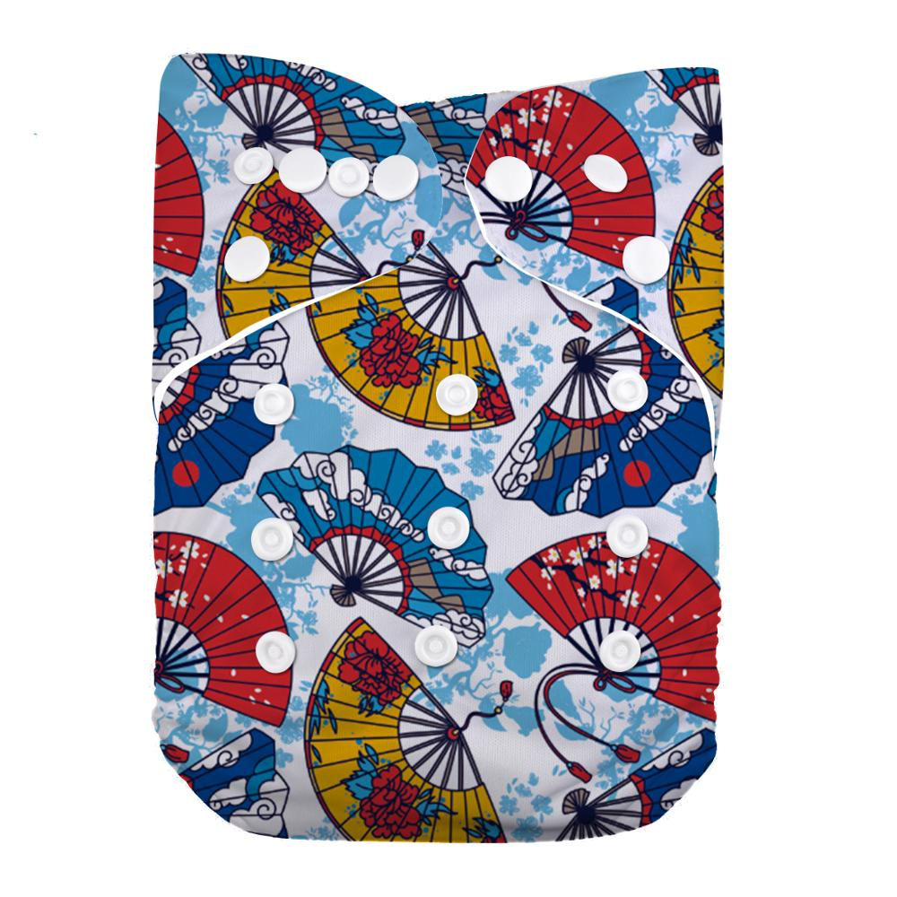 LilBit Reusable Washable Diaper Cover Baby Pocket Cloth Diaper