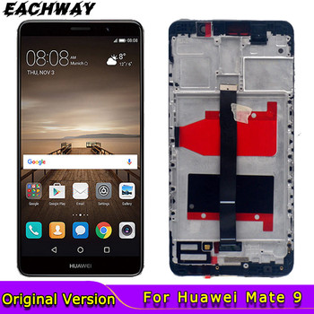 Original New Display for Huawei Mate 9 LCD With Frame Touch Screen Digitizer Assembly Replacement For lcd