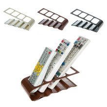 Practical Wrinkled 4 Section Home Appliance Remote Control Holder 3 Color Available