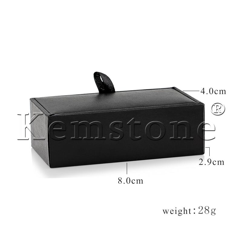 Kemstone Cufflink Boxes,Packing For Cufflinks 12pcs/lot Cfbox3#