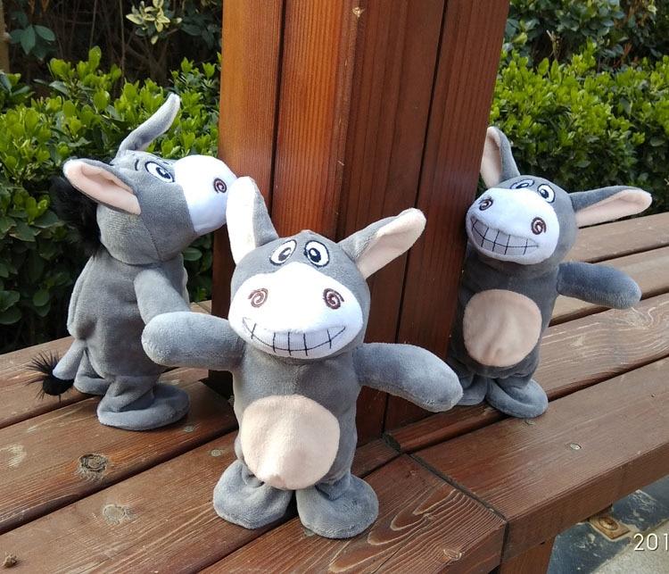 Haha Creative Da Gun Lv Creative Toy Funny Children's Day Electric 10-30 Yuan Laughter Sensing Talking