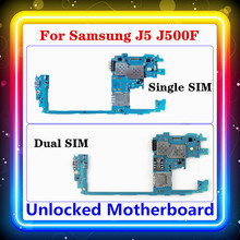 For Samsung Galaxy J5 J500F Motherboard Single/Dual SIM With Full Chips Logic Board Mainboard Original Replaced J500FD/DS
