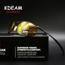 2019 KDEAM Brand Polarized Sunglasses Men Fashion Rectagle Driving Sun Glasses UV400 Gafas De Sol Male Eyewear