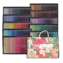 Brutfuner 48/72/120/160/180/260/520 Colors Professional Color Pencils Set For School Draw Sketch Art Supplies