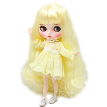 Factory Neo Blythe Dolls Golden Hair Jointed Body 30cm