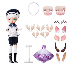 1/6 New Style Multi-joint Movable Figure Model Doll Set BJD Doll Kit - Pear Blossom Girl(China)