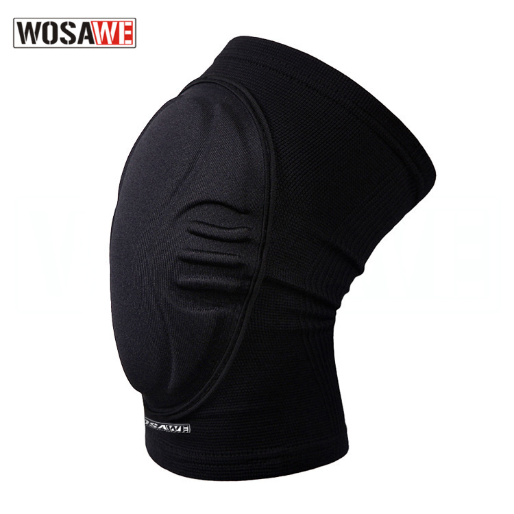 Wosawe Outdoor Limit Sports Kneecaps Shatter-resistant Protective Clothing Roller Skating Skiing Kneecap Dance Kneecap