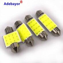 Автомобильная светодиодная лампа C5W, 100x31 мм, 36 мм, 39 мм, 42 мм, 12 чипов