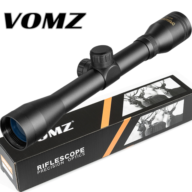 4x32 Hunting Optical Hare Short Air Rifle Scope Tactical Sight Sniper Shooting Airsoft Guns Tactical Riflescope 1