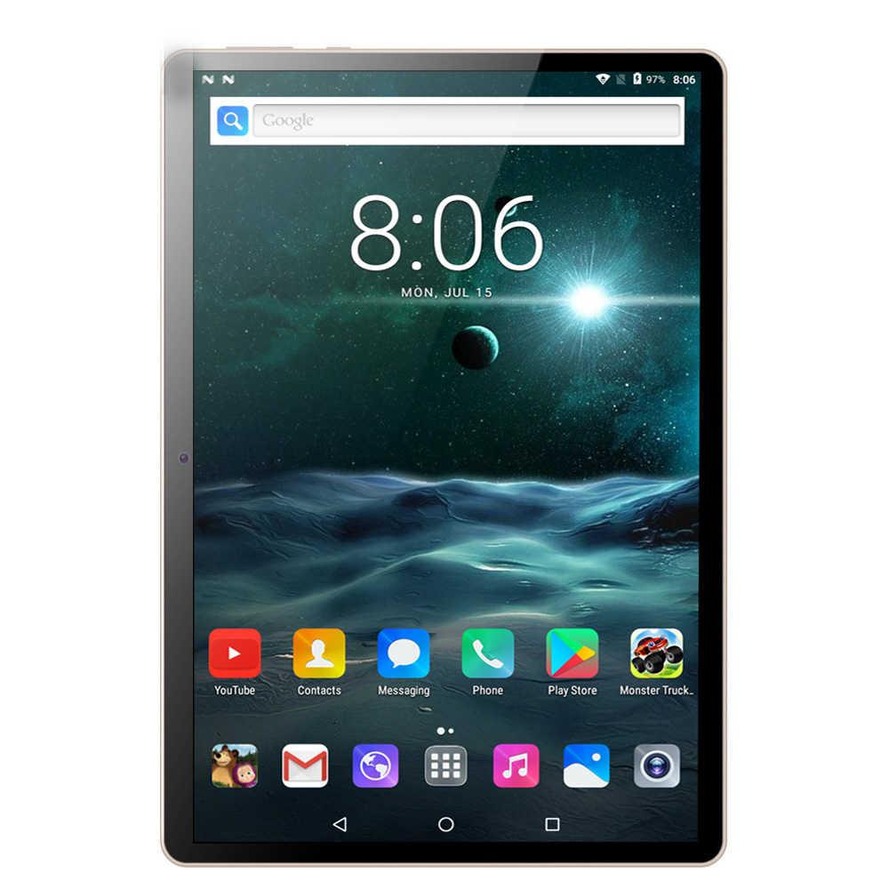 10,1 дюймов новая система планшетный ПК 3g телефонный звонок Android 7,0 Восьмиядерный 4 ГБ/64 Гб Две sim-карты Wi-Fi ips Bluetooth Стекло планшетный ПК