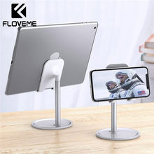 FLOVEME Phone Holder For iPhone XR XS X Universal Tablet Phone Stand For iPad Samsung Huawei Smartphone Desk Stand Mount(China)