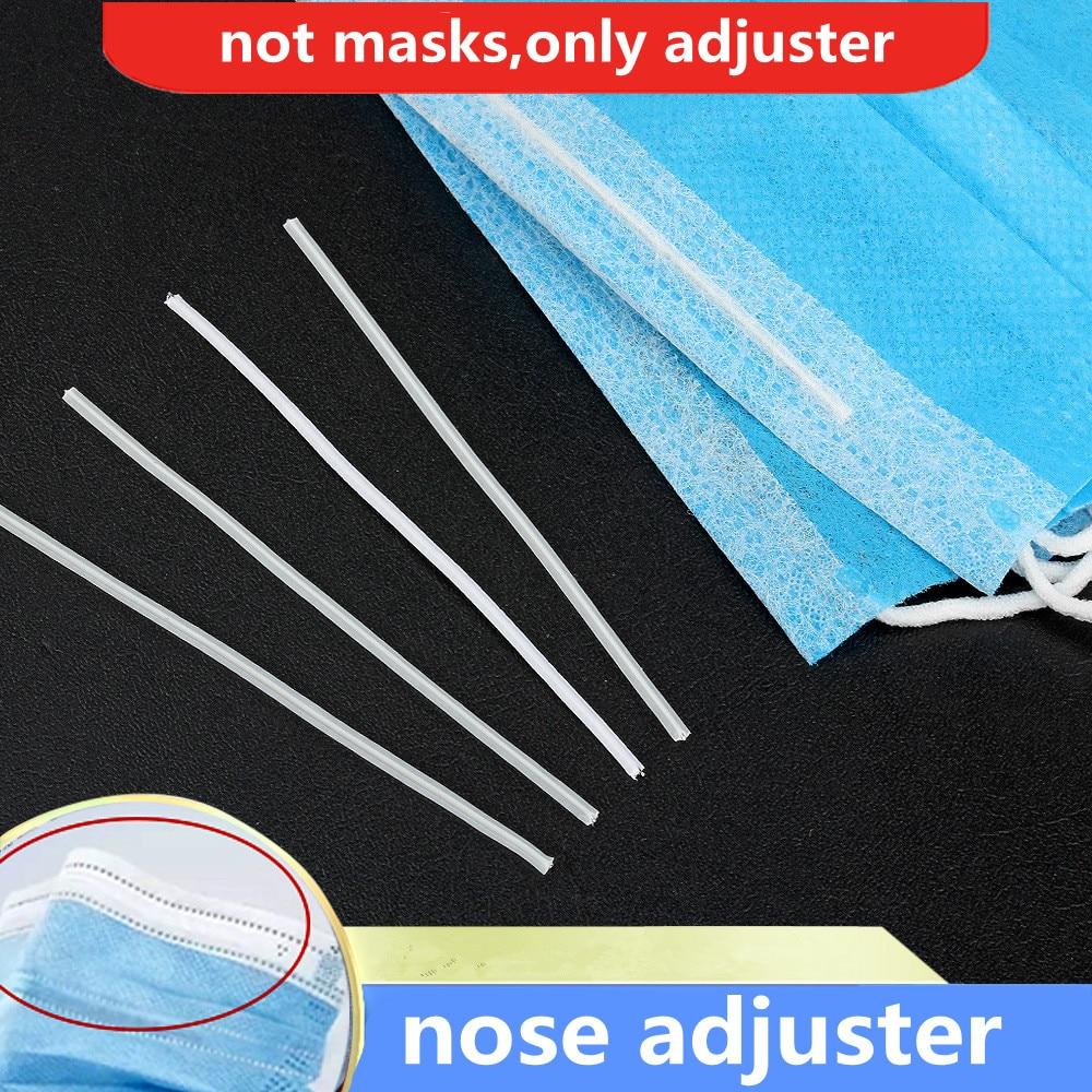 DIY Face Mask Nose Adjuster Nose Bridge Nose Clips Elastic Band Rubber Band 3mm Elasticity Strap Face Mask Rope