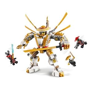 Image 2 - 2020 ninjagoesジャングルレイダー黄金のメカ雷レイダーフィギュアモデルと互換忍者ギフトおもちゃ