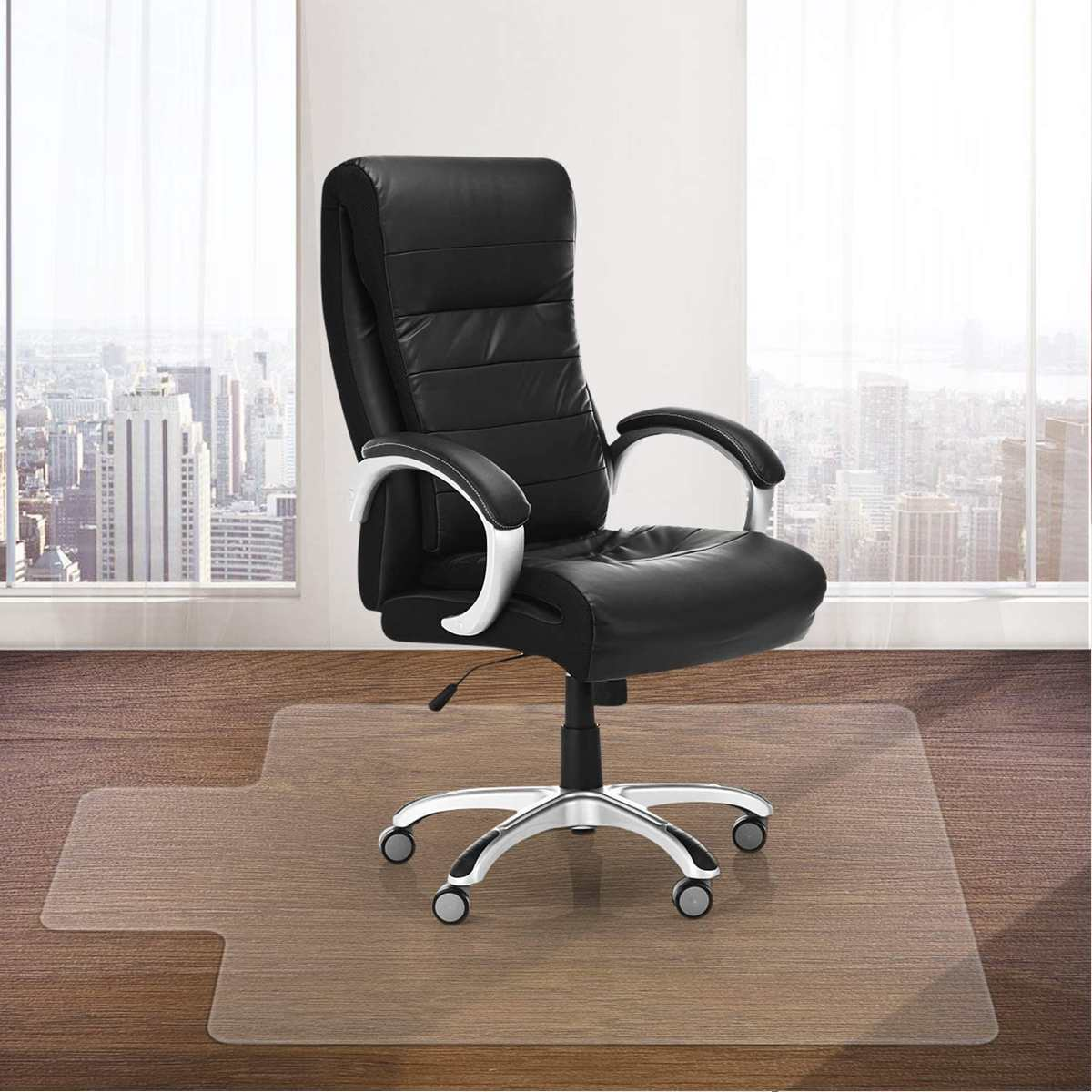 PVC Protector Clear Chair Mat Home Office Rolling Chair Floor Carpet Kitchen Mat Bath Carpet Living Room Floor Mat Without Chiar