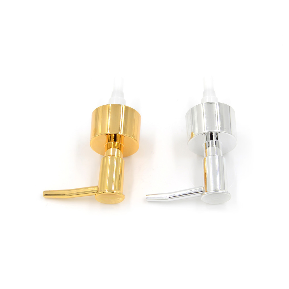 1Pcs Gold Silver Stainless Steel Soap Pump Liquid Lotion Gel Dispenser Replacement Jar Tube Tool