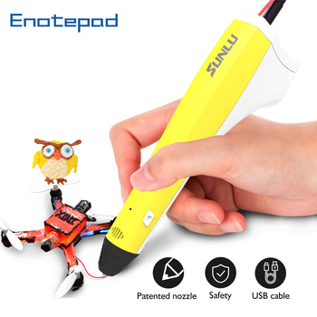 Juego de bolígrafos 3D con filamento PLA PCL para chico, 1,75mm, 3D