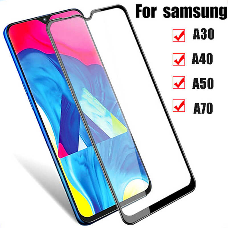 保護三星銀河サムスン A70 A50 ケースフルカバー A30 A40 A50 2019 強化ガラス Sansung 三星電子サムスンギャラックス