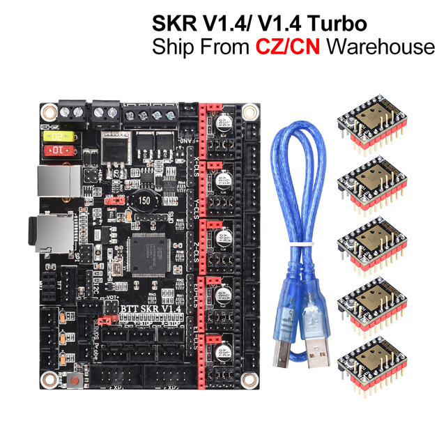 BigtreetechクローナV1.4ターボbttクローナV1.4制御ボード3Dプリンタ部品mks sgen l TMC2209 tmc2208 CR10 Ender3アップグレードクローナミニ