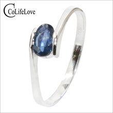 FREE SHIPPING!!! 925 silver ring,Sapphire Ring,from the bigget sapphire mine in China,birthstone ring