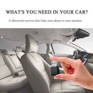 Image 5 - 2 In1 Bluetooth 5.0 ses alıcısı verici kablosuz adaptör Mini 3.5mm AUX Stereo Bluetooth verici TV PC için araba çift