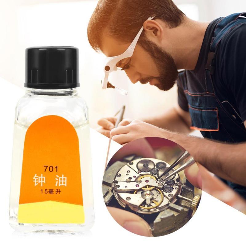 Good Quality Watch Waterproof Oil Repair Tool Watchmaker Lubricant Oil Cleaning Lubricating Clock Watch Repair Tool Accessories