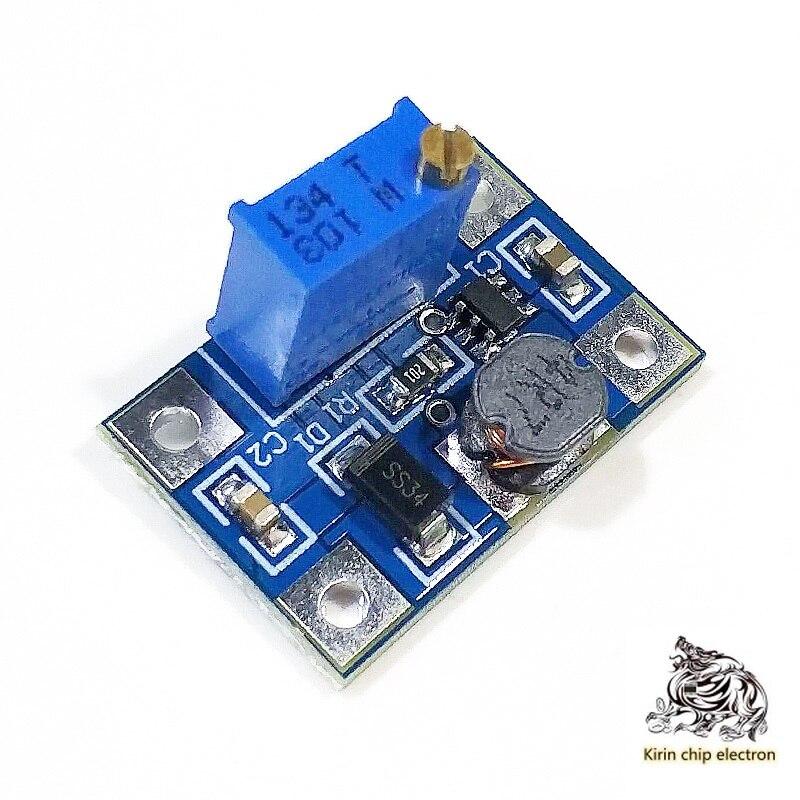 10PCS/LOT SX1308 Adjustable Boost Module Large Current 2A Power Supply Module Dc-dc Boost Module