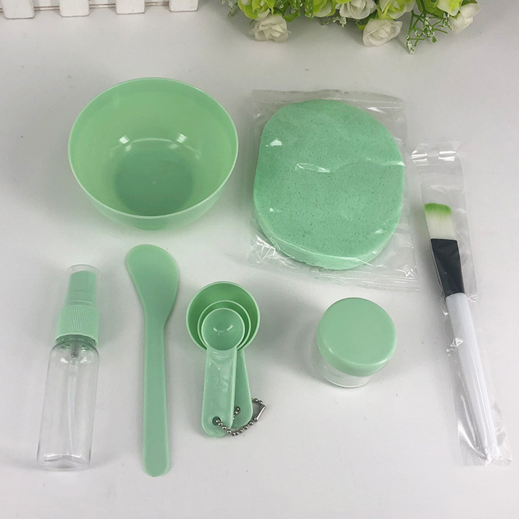 9pcs/set Women Face Mask Mixing Bowl Set Girls Facial Skin Care Mask Mixing Tools Kit Beauty Supplies