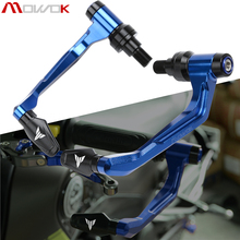 For YAMAHA MT07 MT09 MT10 MT03 TRACER NEW Motocycle Handlebar Handle grips Bar Ends + Brake Clutch Levers Guard Protector