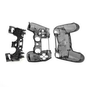 Image 3 - JCD для контроллера PS4 V1, полный корпус корпуса, чехол, накладка, набор кнопок для Sony Playstation 4 PS4 JDM 001 011, прозрачный