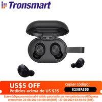 [Nueva versión] Tronsmart Spunky Beat valiente a Bluetooth inalámbrico verdadero auricular QualcommChip tecnología APTX auriculares inalámbricos con CVC 8,0